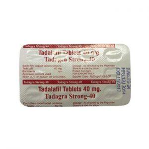 Buy Tadagra Strong 40mg online